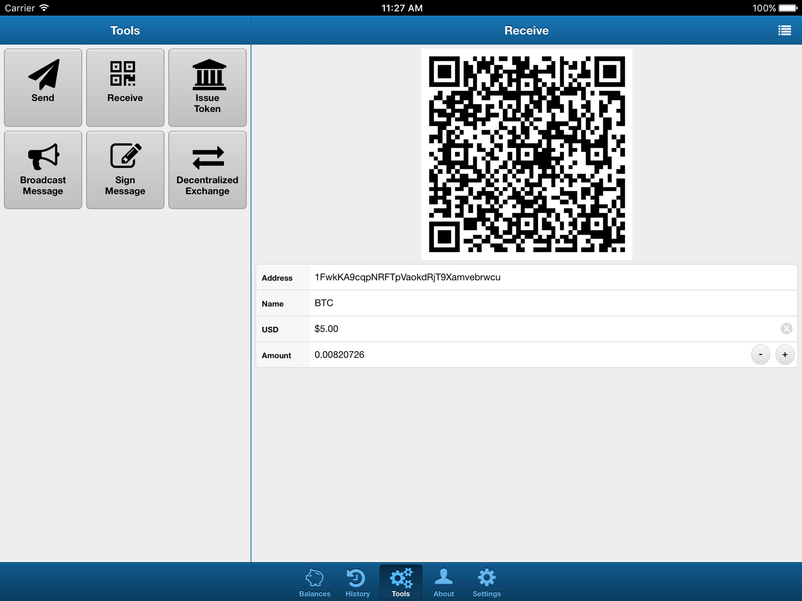 bitcoin qr code generator php